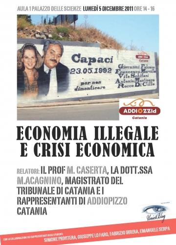 Economia illegale e crisi economica